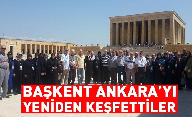 Başkent Ankara'yı Yeniden Keşfettiler