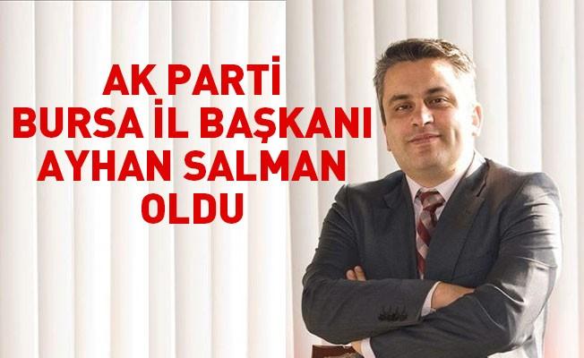 AK Parti Bursa İl Başkanı Ayhan Salman oldu