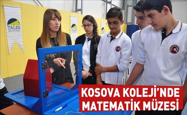 Kosova Koleji'nde Matematik Müzesi
