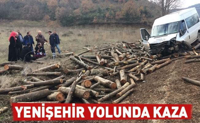 Yenişehir yolunda kaza