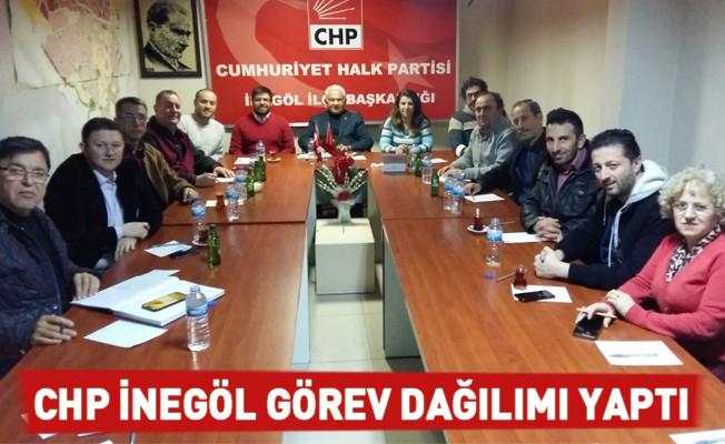 CHP İnegöl görev dağılımı yaptı