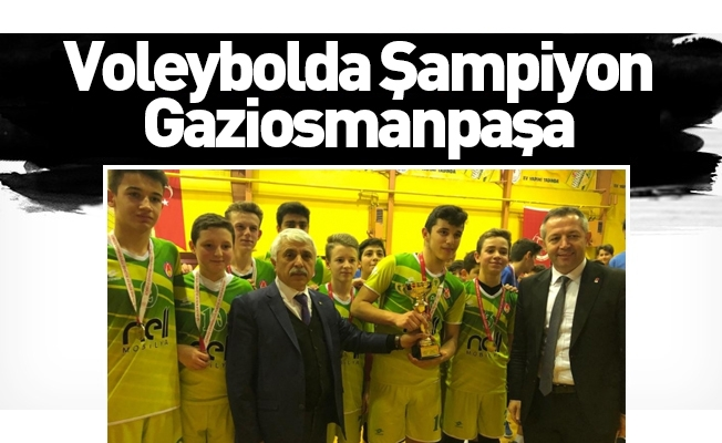 Voleybolda Şampiyon Gaziosmanpaşa