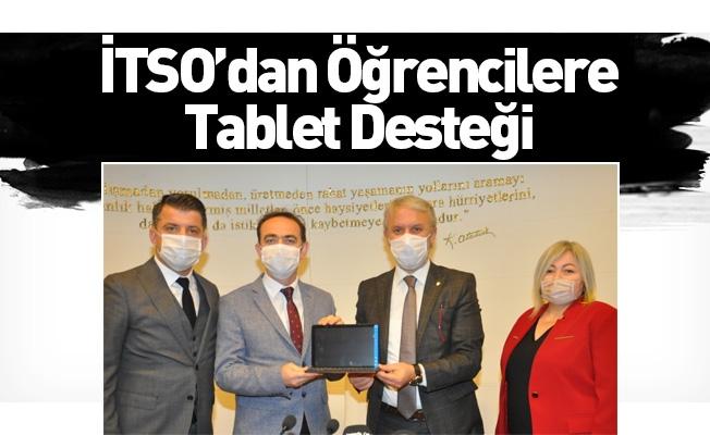 İTSO'dan Öğrencilere Tablet Desteği