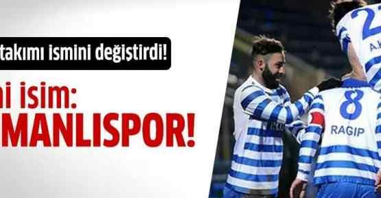 Ankara spor Osmanlıspor oldu!
