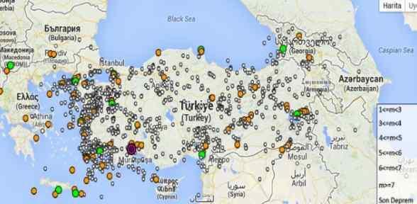 Antalya 3.7 Ile Sallandı
