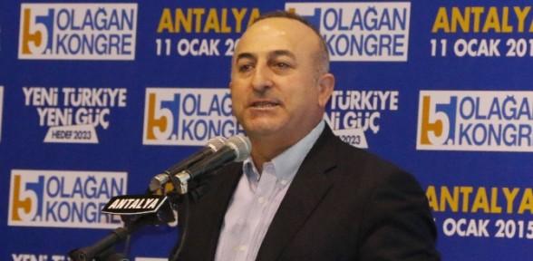Bakan Çavuşoğlu'ndan