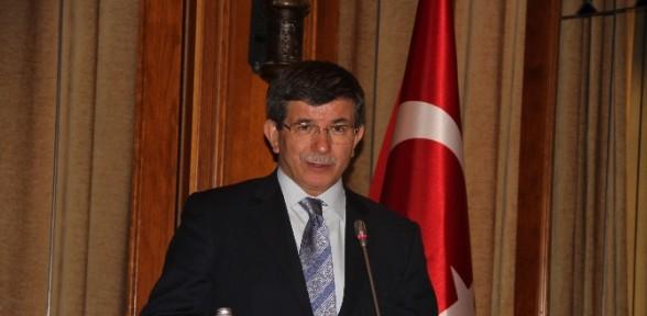 Başbakan Davutoğlu'ndan Atatürk Mesajı