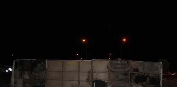 Başkent'te Otobüs Kazası: 20 Yaralı