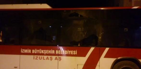 Belediye Otobüsüne Molotoflu Saldırı