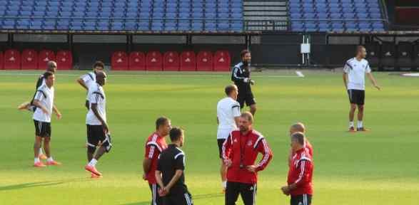 Beşiktaş, Feyenoord Hazırlıklarını Tamamladı