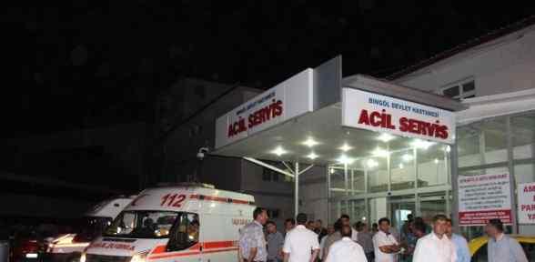 Bingöl'de Feci Kaza: 15 Yaralı