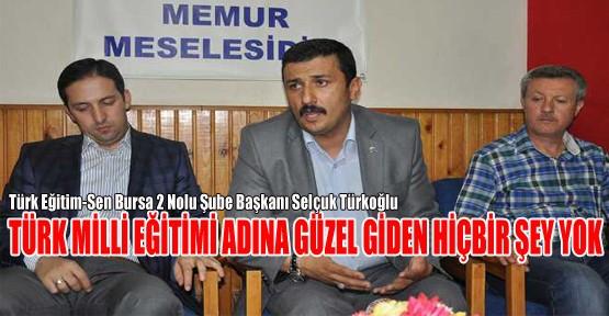 Bursa'da 482 Okul Müdürünün Kelleleri Kopartılmıştır