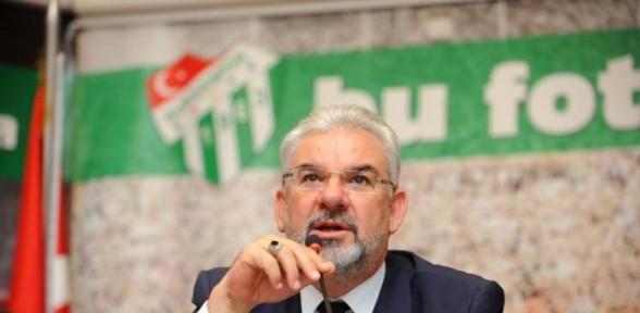 Bursaspor Başkanından 'Emre' açıklaması