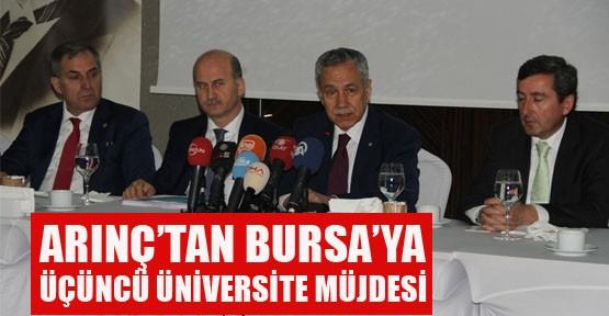 Bursa'ya üçüncü üniversite müjdesi!