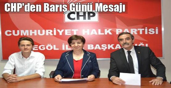 CHP'den Barış Günü Mesajı