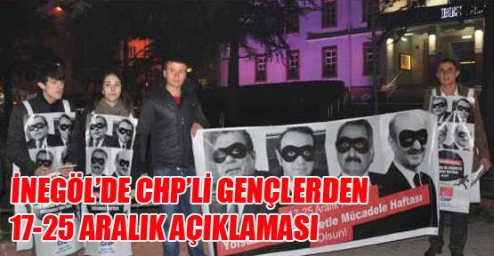 CHP'li Gençlerden 17-25 Aralık Açıklaması