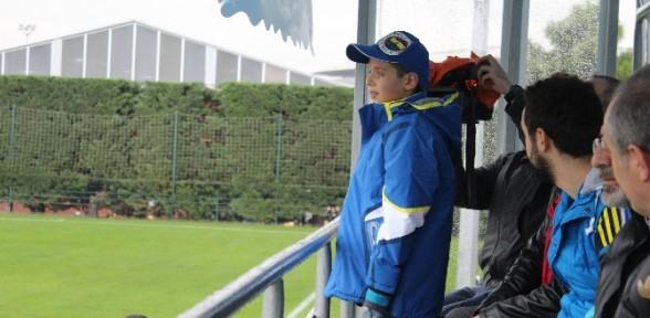Çok Sevdiği Fenerbahçe'nin Maçında