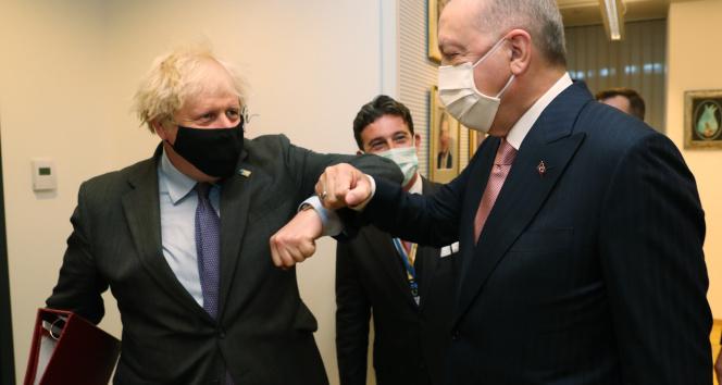 İngiltereden Erdoğan ve Johnson görüşmesine ilişkin açıklama