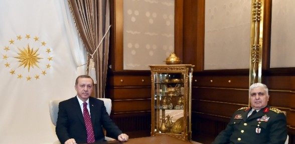 Cumhurbaşkanı Genelkurmay Başkanı'nı kabul etti