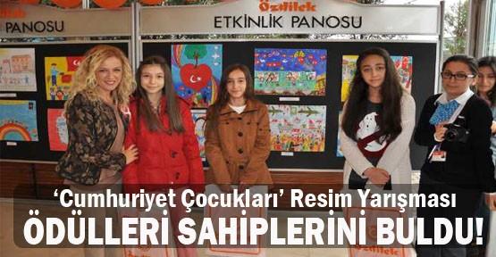 'Cumhuriyet Çocukları' Resim Yarışması Ödülleri Sahiplerini Buldu