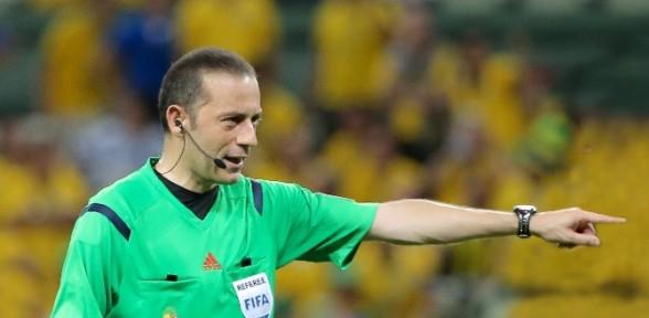 Cüneyt Çakır Macaristan- Rusya Maçını Yönetecek