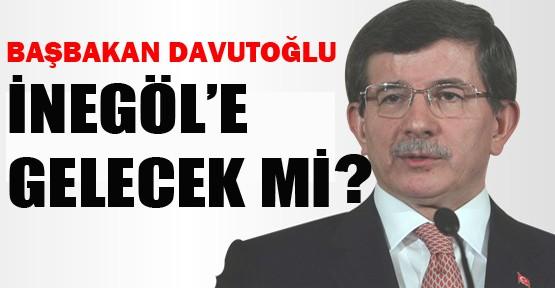 Başbakan Davutoğlu İnegöl'e Gelecek mi ?