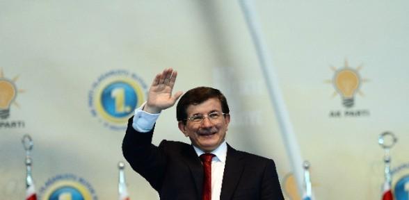 Davutoğlu'dan Teşekkür Konuşması