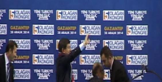 Davutoğlu'nun Fotoğrafını çekerken...