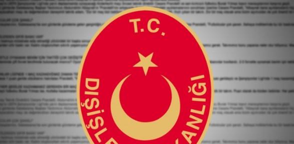 Dışişleri Tunus'taki saldırıyı kınadı