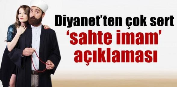 """Diyanet'ten """"sahte Imam"""" Açıklaması"""