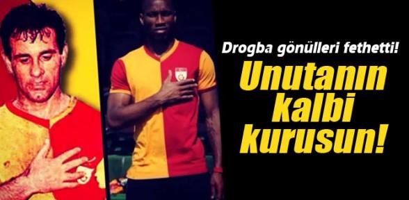 Drogba'dan Galatasaray'a büyük jest!
