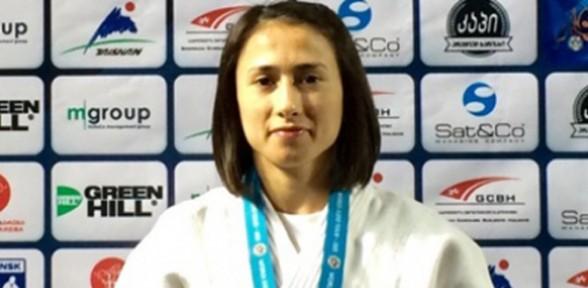 Ebru Şahin gümüş madalya kazandı