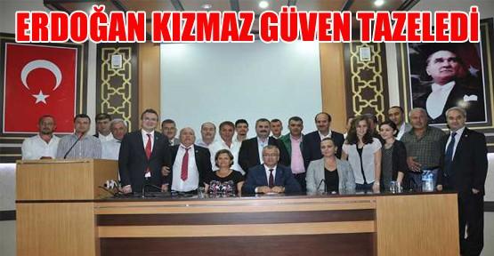 Erdoğan Kızmaz Güven Tazeledi