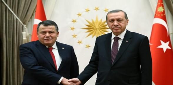 Erdoğan, Yargıtay Başkanıyla görüştü