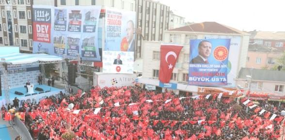Erdoğan'dan 111 Milyon Tl'lik Açılış
