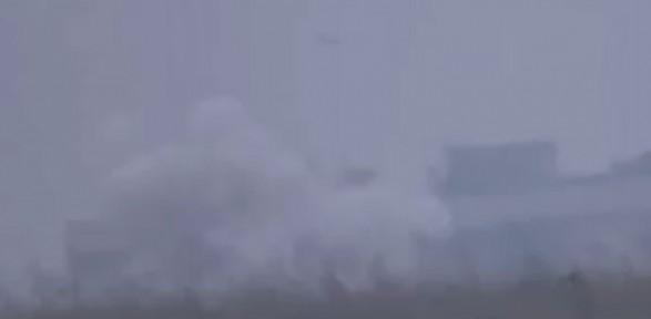 Esad'a Ait Kontrol Noktasını Böyle Havaya Uçurdular