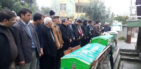 Feci Kazada ölenler Toprağa Verildi
