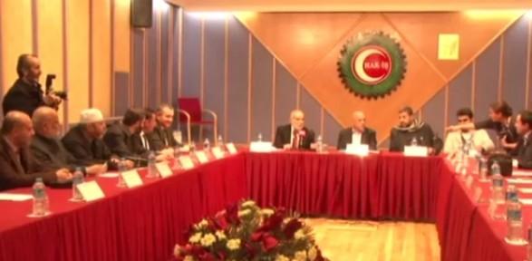 Filistin Başbakan Yardımıcısı Ve Milletvekilleri Hak-iş'te
