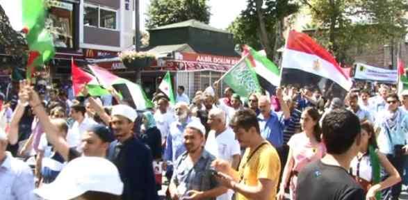 Filistin Için Yürüdüler