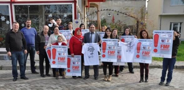 Fmf Hastaları 'kader Birliği' Yaptı