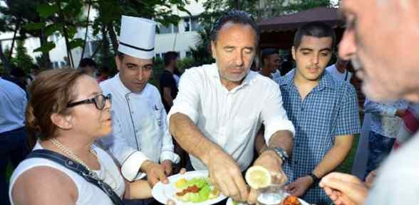 Galatasaray'da Barbekü Partisi