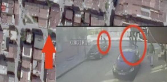 Gazi Mahallesi'ndeki Cinayet öncesi Ve Sonrasıyla Kamerada