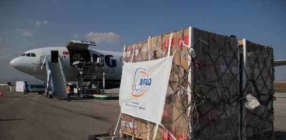 Gazze'ye Yardım Uçakları