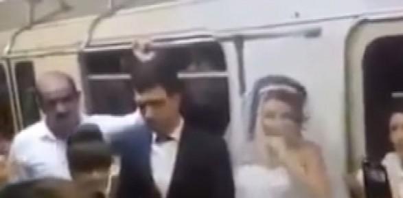 Gelin Ve Damat Düğünlerine Geç Kalınca...