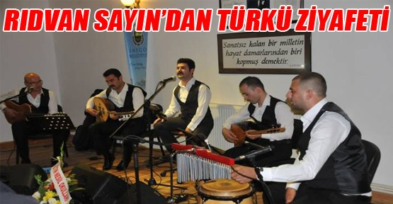 Gençlik Merkezinde Türkü Gecesi