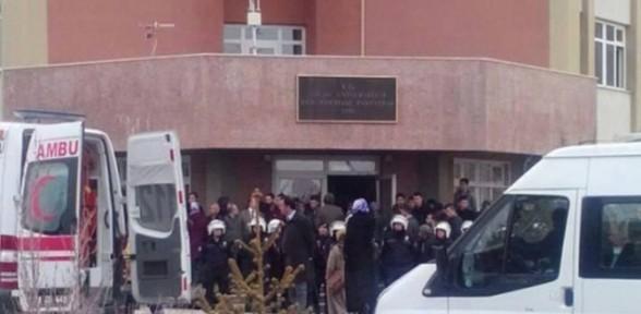Gerginlik Niğde Üniversitesi'ne sıçradı !