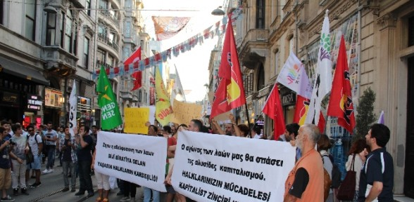 HDP'den Yunan hükümetine destek