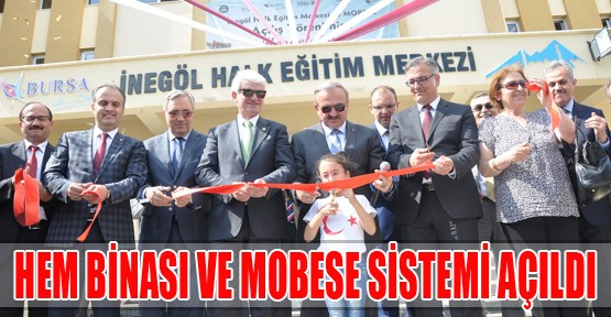 HEM Binası ve Mobese Sistemi Açıldı