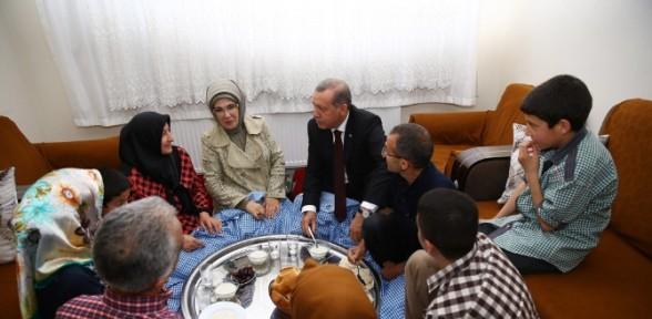İftarda cumhurbaşkanını misafir eden aile konuştu