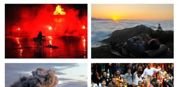 İha Objektiflerinden Yılın Fotoğrafları